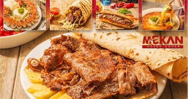 Mekan Közde Döner'de her biri birbirinden lezzetli yemek menüleri 34,50 TL'den başlayan fiyatlarla! Fırsatın geçerlilik tarihi için DETAYLAR bölümünü inceleyiniz.