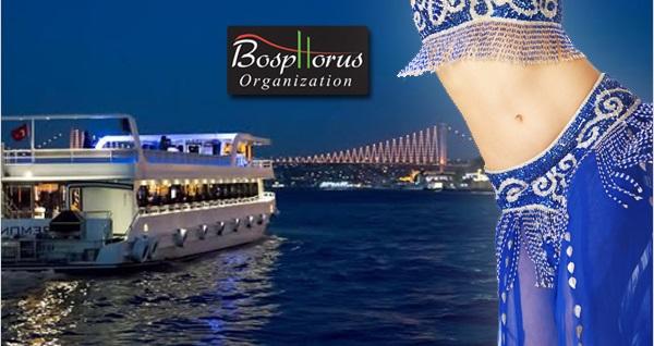 Bosphorus Organization ile Boğaz'da 4 saat süren açık büfe akşam yemeği eşliğinde eğlence programı 69 TL'den başlayan fiyatlarla! Fırsatın geçerlilik tarihi için DETAYLAR bölümünü inceleyiniz. Haftanın her günü geçerlidir.