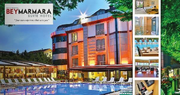 Beylikdüzü Beymarmara Suite Hotel'de çift kişilik 1 gece konaklama seçenekleri 109 TL'den başlayan fiyatlarla! Fırsatın geçerlilik tarihi için, DETAYLAR bölümünü inceleyiniz.