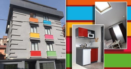 Ataşehir Arkem Hotel Suite 3'te 1+0 mutfaklı studio odada çift kişilik 1 gece konaklama 139 TL! Fırsatın geçerlilik tarihi için, DETAYLAR bölümünü inceleyiniz.