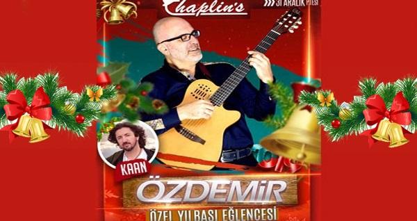 Chaplin's Greenpark Bostancı'da Özdemir ve Kaan Sahnesi & yılbaşı programı 249 TL'den başlayan fiyatlarla! Bu fırsat 31 Aralık 2018 Yılbaşı gecesi için geçerlidir.