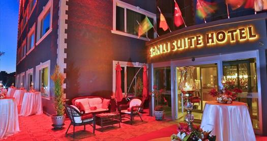 Şanlı Suite Hotel'de kahvaltı dahil çift kişilik 1 gece konaklama 179 TL! Fırsatın geçerlilik tarihi için DETAYLAR bölümünü inceleyiniz.