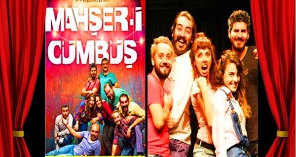 """Türkiye'de modern doğaçlama tiyatronun öncüsü olan """"Mahşer-i Cümbüş"""" ve """"Kontratak"""" için biletler 12 TL'den başlayan fiyatlarla! Tarih ve konum seçimi yapmak için """"Hemen Al"""" butonuna tıklayınız."""