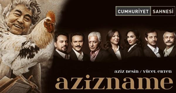 Aziz Nesin'in ünlü eseri 'Azizname' oyununa giriş biletleri