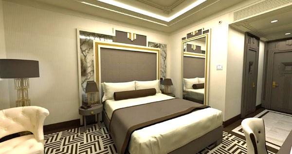 Ramada Hotel & Suites İstanbul Golden Horn'da kahvaltı dahil çift kişilik 1 gece konaklama 279 TL'den başlayan fiyatlarla! Fırsatın geçerlilik tarihi için DETAYLAR bölümünü inceleyiniz.