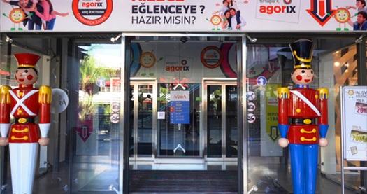 Akdeniz'in en büyük kapalı tema parkı Agorix Antalya'da oyun kredileri 15 TL'den başlayan fiyatlarla! Fırsatın geçerlilik tarihi için, DETAYLAR bölümünü inceleyiniz.