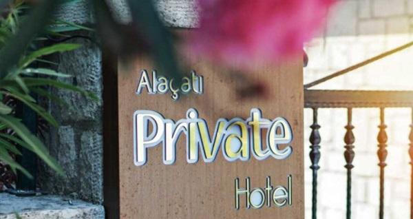 Alaçatı Private Hotel'de kahvaltı dahil çift kişilik 1 gece konaklama keyfi 249 TL'den başlayan fiyatlarla! Fırsatın geçerlilik tarihi için, DETAYLAR bölümünü inceleyiniz.