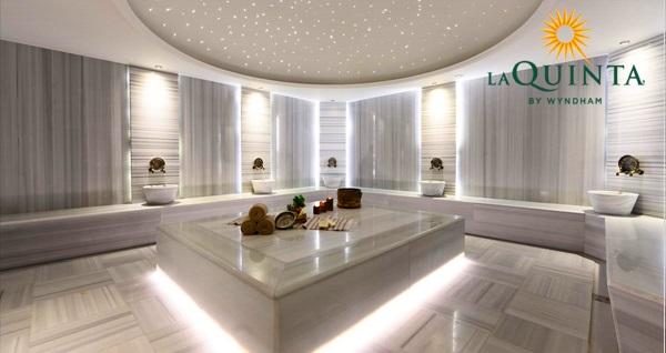 La Quinta by Wyndham Istanbul Güneşli Hotel'de çift kişi 1 gece konaklama seçenekleri ve spa kullanımı Fırsatın geçerlilik tarihi için DETAYLAR bölümünü inceleyiniz.