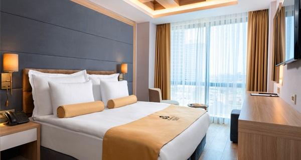 İstanbull Hotel & Spa Bomonti'de çift kişi 1 gece kahvaltı hariç konaklama 239 TL! Fırsatın geçerlilik tarihi için, DETAYLAR bölümünü inceleyiniz.