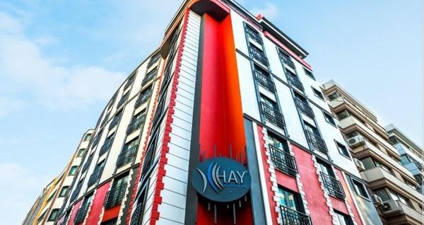 HAY Hotel Alsancak'ta çift kişilik 1 veya 3 gece konaklama seçenekleri 299 TL'den başlayan fiyatlarla! Fırsatın geçerlilik tarihi için DETAYLAR bölümünü inceleyiniz.