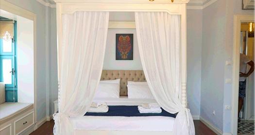 Alaçatı Beyaz Kapı Boutique Hotel'de çift kişilik 1 gece kahvaltı dahil konaklama seçenekleri 175 TL'den başlayan fiyatlarla! Fırsatın geçerlilik tarihi için DETAYLAR bölümünü inceleyiniz.