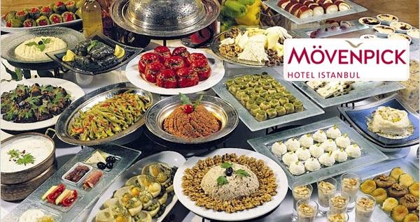 Mövenpick Hotel Istanbul'da canlı fasıl eşliğinde Türk ve Osmanlı mutfağının geleneksel lezzetlerinden oluşan iftar menüsü 199 TL yerine 99 TL! Bu fırsat 6 Mayıs - 3 Haziran 2019 tarihleri arasında, iftar saatinde geçerlidir.