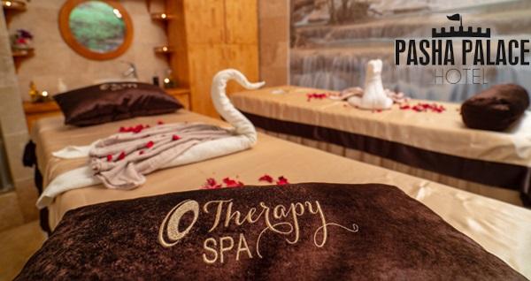 Pasha Palace Hotel'de masaj keyfi ve SPA kullanımı