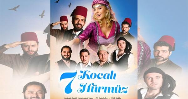 """Türk komedya geleneğinin efsane hikayesi """"7 Kocalı Hürmüz"""" için biletler 70 TL yerine 35 TL! Tarih ve konum seçimi yapmak için """"Hemen Al"""" butonuna tıklayınız."""