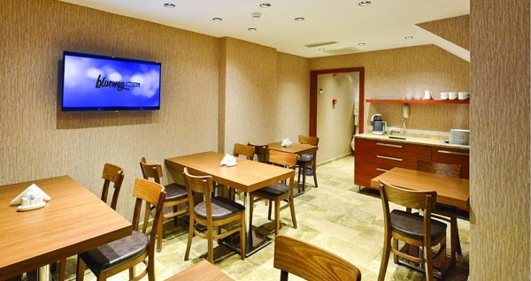 Harbiye Blueway Hotel City'de kahvaltı dahil çift kişilik 1 gece konaklama 280 TL yerine 180 TL! Fırsatın geçerlilik tarihi için DETAYLAR bölümünü inceleyiniz.