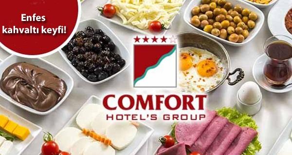 Comfort Hotel Beylikdüzü'nde enfes içeriklerle dolu açık büfe kahvaltı menüsü 34,90 TL! Fırsatın geçerlilik tarihi için DETAYLAR bölümünü inceleyiniz.