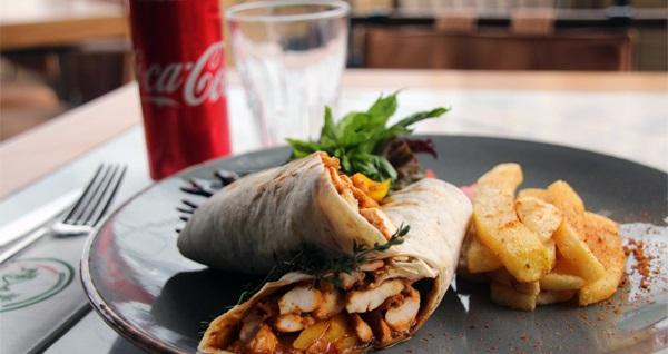 Krokodil Özlüce'de pizza margarita, hamburger ve tavuklu wrap menüleri 19,50 TL'den başlayan fiyatlarla! Fırsatın geçerlilik tarihi için DETAYLAR bölümünü inceleyiniz.