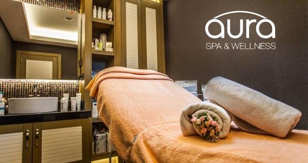 Gayrettepe Sürmeli Hotel Aura SPA'da deniz manzarası eşliğinde 50 dakikalık masaj & ıslak alan kullanımı kişi seçenekleriyle 109 TL'den başlayan fiyatlarla! Fırsatın geçerlilik tarihi için DETAYLAR bölümünü inceleyiniz. ISLAK ALAN KULLANIMINA DAHİL OLANLAR: Türk hamamı, sauna ve buhar odası