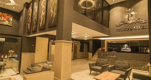 Osmangazi Prusias Otel'de kahvaltı dahil 1 gece konaklama seçenekleri 149 TL'den başlayan fiyatlarla! Fırsatın geçerlilik tarihi için, DETAYLAR bölümünü inceleyiniz.