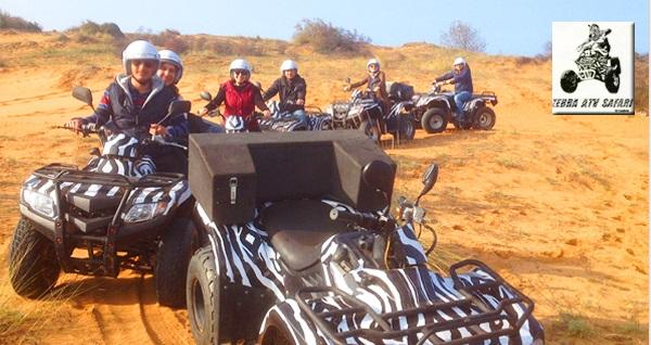 Zebra ATV Safari ile Şile'de ATV turu kişi başı