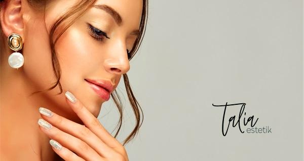 Taria Güzellik Merkezi'nde kalıcı oje, manikür ve protez tırnak uygulaması 100 TL'den başlayan fiyatlarla! Fırsatın geçerlilik tarihi için DETAYLAR bölümünü inceleyiniz.
