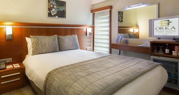 Sirkeci Orka Royal Hotel'de kahvaltı dahil çift kişilik 1 gece konaklama ve spa keyfi 219 TL'den başlayan fiyatlarla! Fırsatın geçerlilik tarihi için, DETAYLAR bölümünü inceleyiniz.