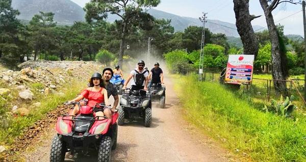 Olympos Atv Safari'de 60 dakikalık ATV turu kişi seçenekleri ile 79,90 TL'den başlayan fiyatlarla! Fırsatın geçerlilik tarihi için, DETAYLAR bölümünü inceleyiniz.