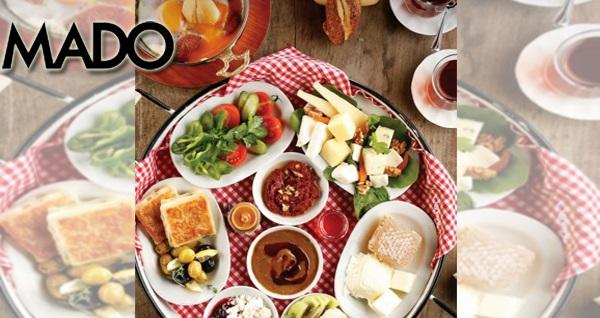 Aqua Florya Mado'da zengin içerikli Maraş kahvaltı menüsü 55 TL! Fırsatın geçerlilik tarihi için DETAYLAR bölümünü inceleyiniz.