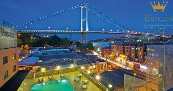 Ortaköy Princess Hotel'de Hemera Restaurant'ta Boğaz'a nazır yemek menüsü 125 TL! Fırsatın geçerlilik tarihi için DETAYLAR bölümünü inceleyiniz.