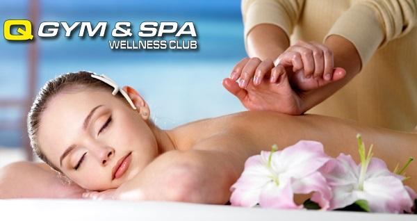 Küçükçekmece Q GYM & SPA Wellness Club'ta ıslak alan kullanımı dahil 50 dakika masaj ve hamam uygulamaları 69 TL'den başlayan fiyatlarla! Fırsatın geçerlilik tarihi için, DETAYLAR bölümünü inceleyiniz.