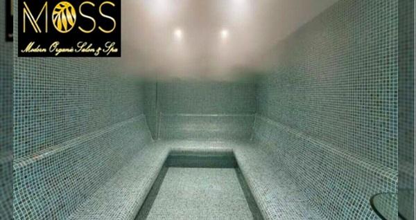 Moss Spa'dan masaj, kese köpük, tuz peeling uygulamaları 49 TL'den başlayan fiyatlarla! Fırsatın geçerlilik tarihi için DETAYLAR bölümünü inceleyiniz.