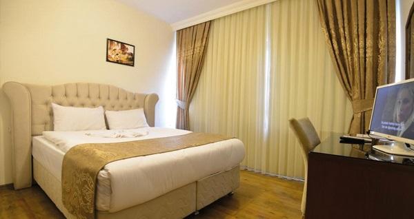 Tarihi Ankatra Butik Hotel'de tek veya çift kişilik 1 gece konaklama seçenekleri 89 TL'den başlayan fiyatlarla! Fırsatın geçerlilik tarihi için, DETAYLAR bölümünü inceleyiniz.