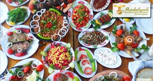 Ataşehir Madalyalı Restaurant'ta enfes iftar menüsü 45 TL! 6 Haziran-4 Temmuz 2016 tarihleri arasında Ramazan ayı boyunca haftanın her günü geçerlidir.
