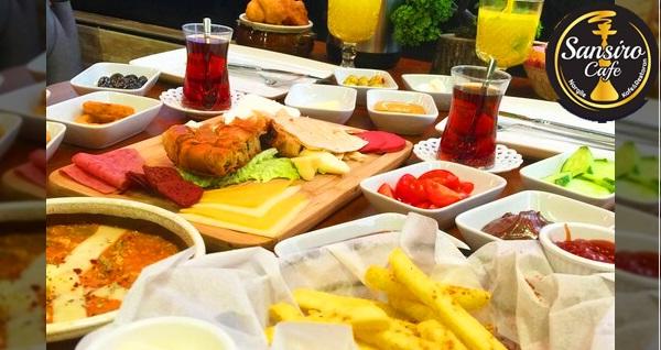 Sansiro Botanik Cafe'de leziz serpme kahvaltı kişi başı 27,50 TL! Fırsatın geçerlilik tarihi için DETAYLAR bölümünü inceleyiniz.