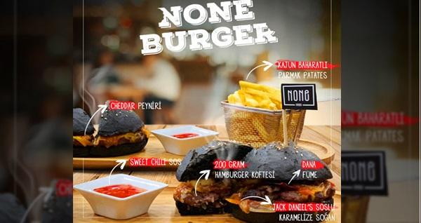 Bağdat Caddesi None Cafe'de efsane lezzet None Burger menü 70 TL yerine 33 TL! Fırsatın geçerlilik tarihi için DETAYLAR bölümünü inceleyiniz.