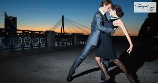 Taksim Tango Tek Dans Kursu 1 Aylık Tango, Salsa, Zumba veya Oryantal Eğitimi 180 TL yerine 69 TL! Fırsatın geçerlilik tarihi için DETAYLAR bölümünü inceleyiniz.