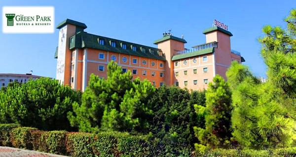 The Green Park Hotel Merter'de çift kişilik 1 gece konaklama seçenekleri
