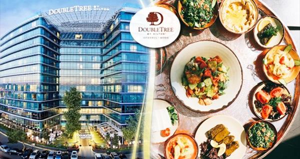 DoubleTree by Hilton Moda'da unutulmaz bir ziyafet yaşatacak 2 yerli içecek eşliğinde Lübnan lezzetleri 99 TL! Fırsatın geçerlilik tarihi için DETAYLAR bölümünü inceleyiniz.