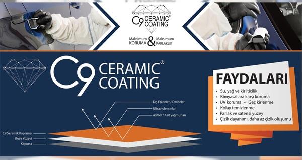 C9 Ceramic Plus Şerfiali'de oto bakım paketleri 99 TL'den başlayan fiyatlarla! Fırsatın geçerlilik tarihi için DETAYLAR bölümünü inceleyiniz.