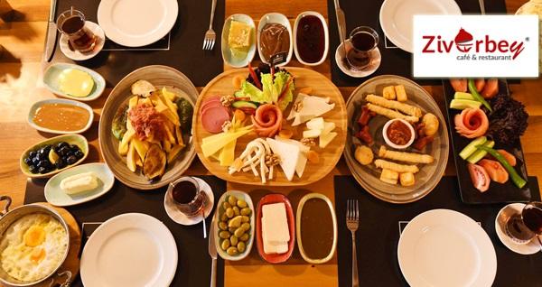Çukurambar Ziverbey Restaurant'ta enfes serpme kahvaltı veya Pazar gününe özel brunch keyfi kişi başı 32,90 TL'den başlayan fiyatlarla! Fırsatın geçerlilik tarihi için, DETAYLAR bölümünü inceleyiniz.