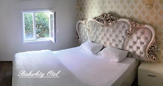 İstanbul Bakırköy Otel'de çift kişilik 1 gece konaklama seçenekleri 159 TL'den başlayan fiyatlarla! Fırsatın geçerlilik tarihi için DETAYLAR bölümünü inceleyiniz.