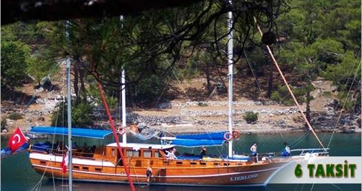 """Ramazan Bayramı dahil """"Mavi Tur""""! IDE Yachting'den tam pansiyon konaklamalı 7 gece 8 gün """"Marmaris-Hisarönü Körfezi-Selimiye Mavi Tur"""" 589 TL'den başlayan fiyatlarla! Bayram dönemi DAHİL; 11 Temmuz-1 Ağustos 2015 tarihleri arasındaki mavi turlar için geçerlidir. Fırsata; konaklama, 5 çayı, yemekler, su, gün boyu çay ikramı ve geziler dahildir."""
