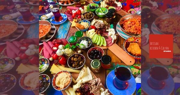 Yeşilköy Artisan Kitchen & Kalyan'da enfes serpme kahvaltı menüsü 32,50 TL! Fırsatın geçerlilik tarihi için DETAYLAR bölümünü inceleyiniz.