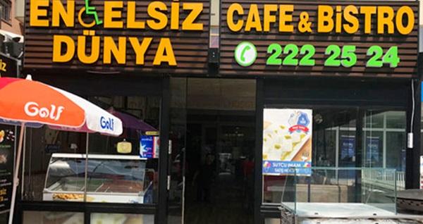 Çankaya Engelsiz Dünya Cafe'de sınırsız çay ve Türk kahvesi eşliğinde serpme kahvaltı kişi başı 22 TL! Fırsatın geçerlilik tarihi için, DETAYLAR bölümünü inceleyiniz.