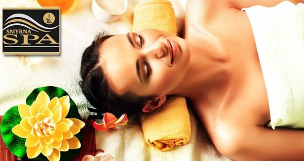 Kordon Otel Çankaya Smyrna Spa'da spa kullanımını içeren 30 ve 45 dakikalık masaj paketleri sıcak içecek ikramları kişi başı 59 TL'den başlayan fiyatlarla! Fırsatın geçerlilik tarihi için, DETAYLAR bölümünü inceleyiniz.