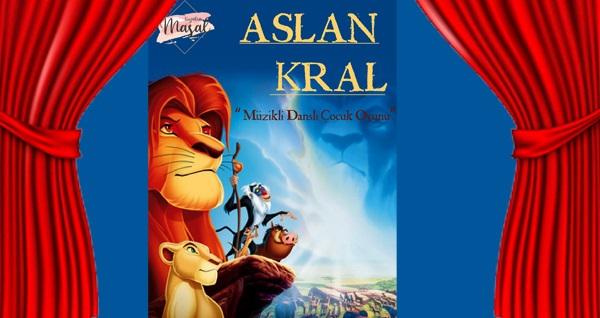 """""""Aslan Kral"""" oyunu için biletler 15 TL'den başlayan fiyatlarla! Tarih ve konum seçimi yapmak için """"Hemen Al"""" butonuna tıklayınız."""