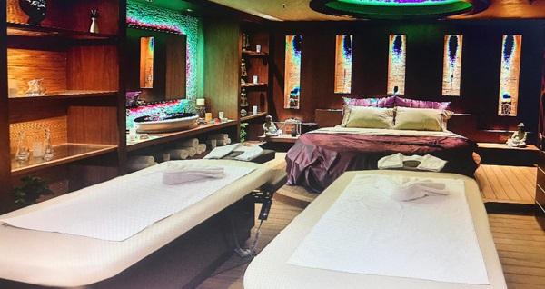 Dragos Fitnesscity'de yer alan Mela'da Spa'da ıslak alan kullanımı dahil masaj seçenekleri 59 TL'den başlayan fiyatlarla! Fırsatın geçerlilik tarihi için DETAYLAR bölümünü inceleyiniz.