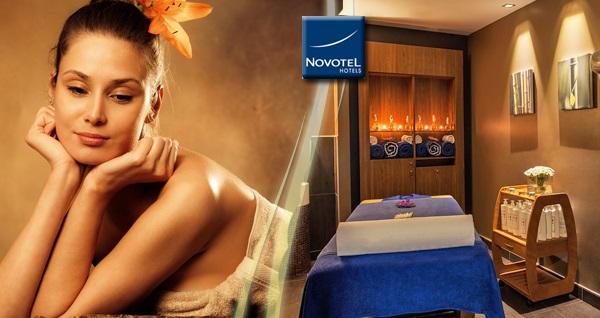 Novotel İstanbul'da 50 dakika masaj keyfi 119 TL! Fırsatın geçerlilik tarihi için DETAYLAR bölümünü inceleyiniz. Haftanın her günü 13.00 - 22.00 saatleri arasında geçerlidir. Masajlar 50 dakika sürmektedir.