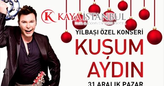 Kaya İstanbul Fair & Convention Hotel'de KUŞUM AYDIN eğlencesi eşliğinde Yılbaşı Programı 270 TL'den başlayan fiyatlarla! Bu fırsat 31 Aralık 2017 yılbaşı gecesi için geçerlidir.
