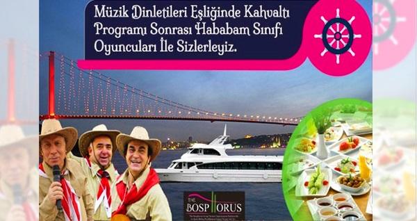 Bosphorus Organization ile her Pazar Boğaz turu eşliğinde müzikli serpme kahvaltı keyfi 75 TL yerine 49,99 TL! Fırsatın geçerlilik tarihi için DETAYLAR bölümünü inceleyiniz.